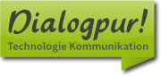 Logo und Link Dialogpur