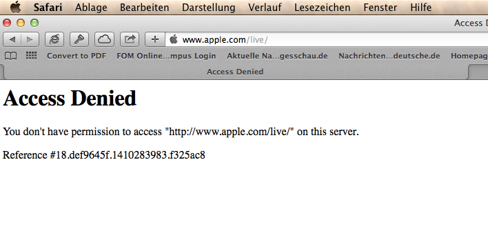 Menubar_und_Access_Denied