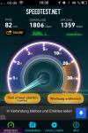 Netzbetreiber des Flixbus WLAN ist Vodafone und es ist nicht immer so schnell wie hier