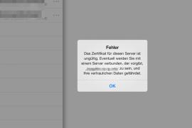 """So stellt sich das Problem dar. Man sich kann zwar mittels DS file auf der DiskStation einloggen, möchte man jedoch eine Datei öffnen heißt es: """"Das Zertifikat für diesen Server ist ungültig. Eventuell werden Sie mit einem Server verbunden, der vorgibt, XXXXXX zu sein, und Ihre vertraulichen Daten gefährdet""""."""