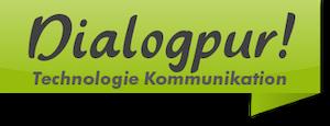 Logo Dialogpur Blog für Technologie und Kommunikation
